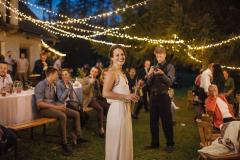 Nevěsta a světýlka