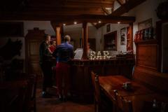 Svíticí nápis Bar