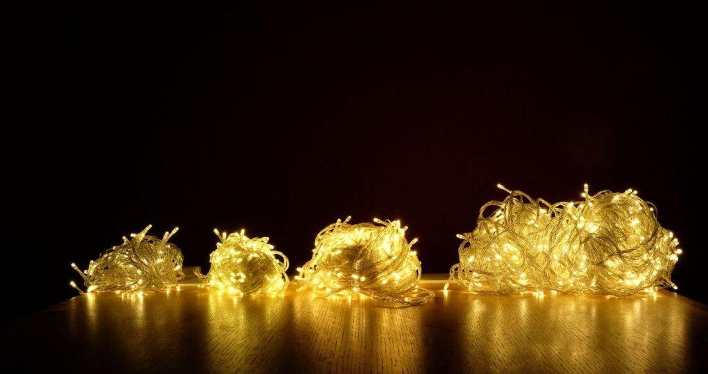 světelné řetězy