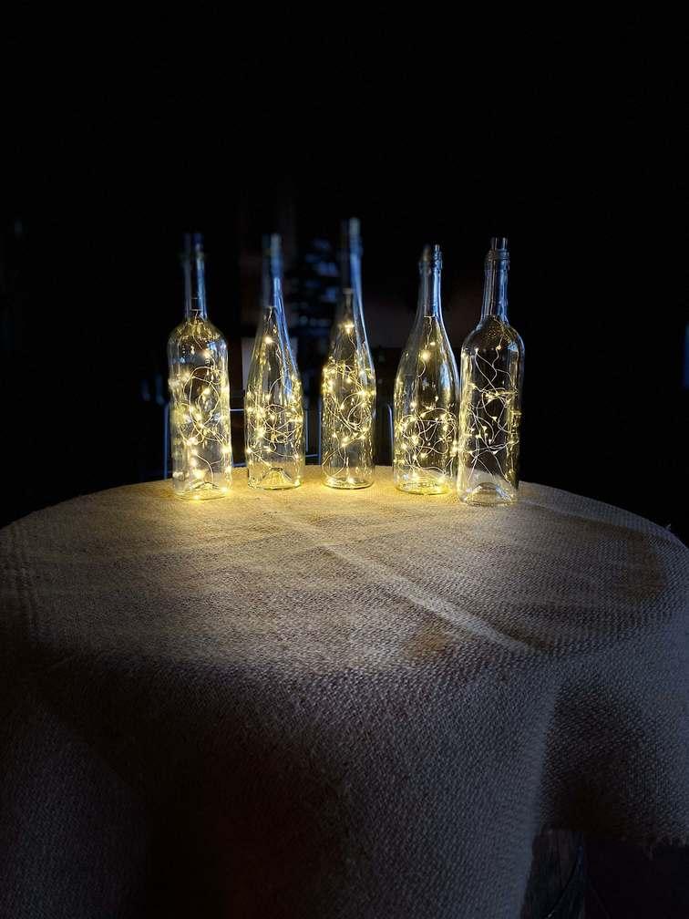 světelné láhve