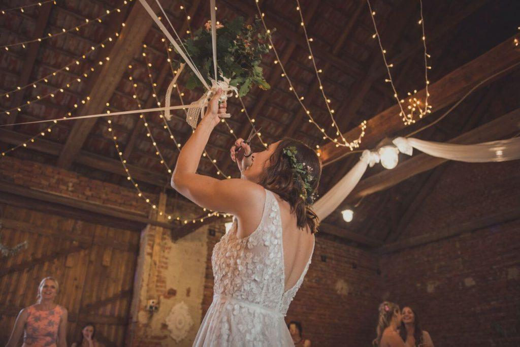 nevěsta se světýlky