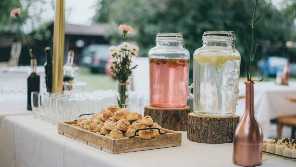 limonáda na svatbu