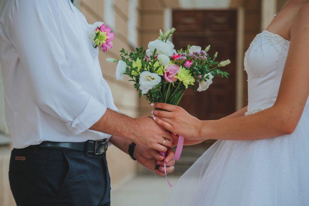 neformální svatební oblečení